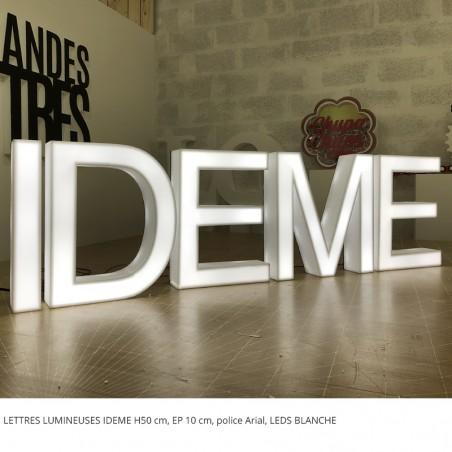 IDEME LEDS BLANCHE