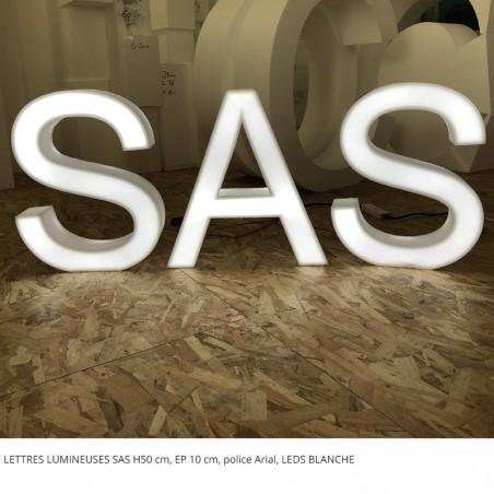 SAS LEDS BLANCHE