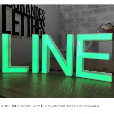 LINE LEDS RVB