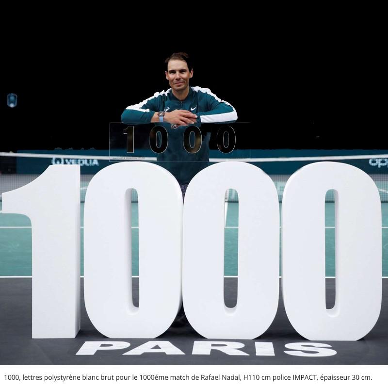 1000 h110 ep 30 impact , 1000eme match rafael nadal